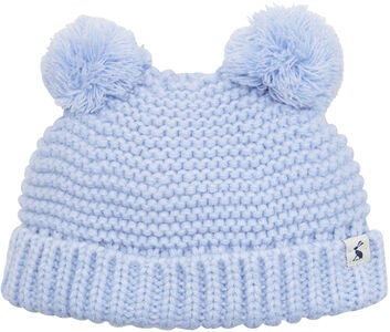 Tom Joule Double Pom Pom Lue, Sky Blue