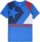 Converse Chevron T-Shirt, Totally Blue