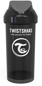 Twistshake Babykopp 360 ml, Svart
