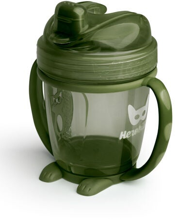 Herobility Sippy Cup 140 ml, Army Green