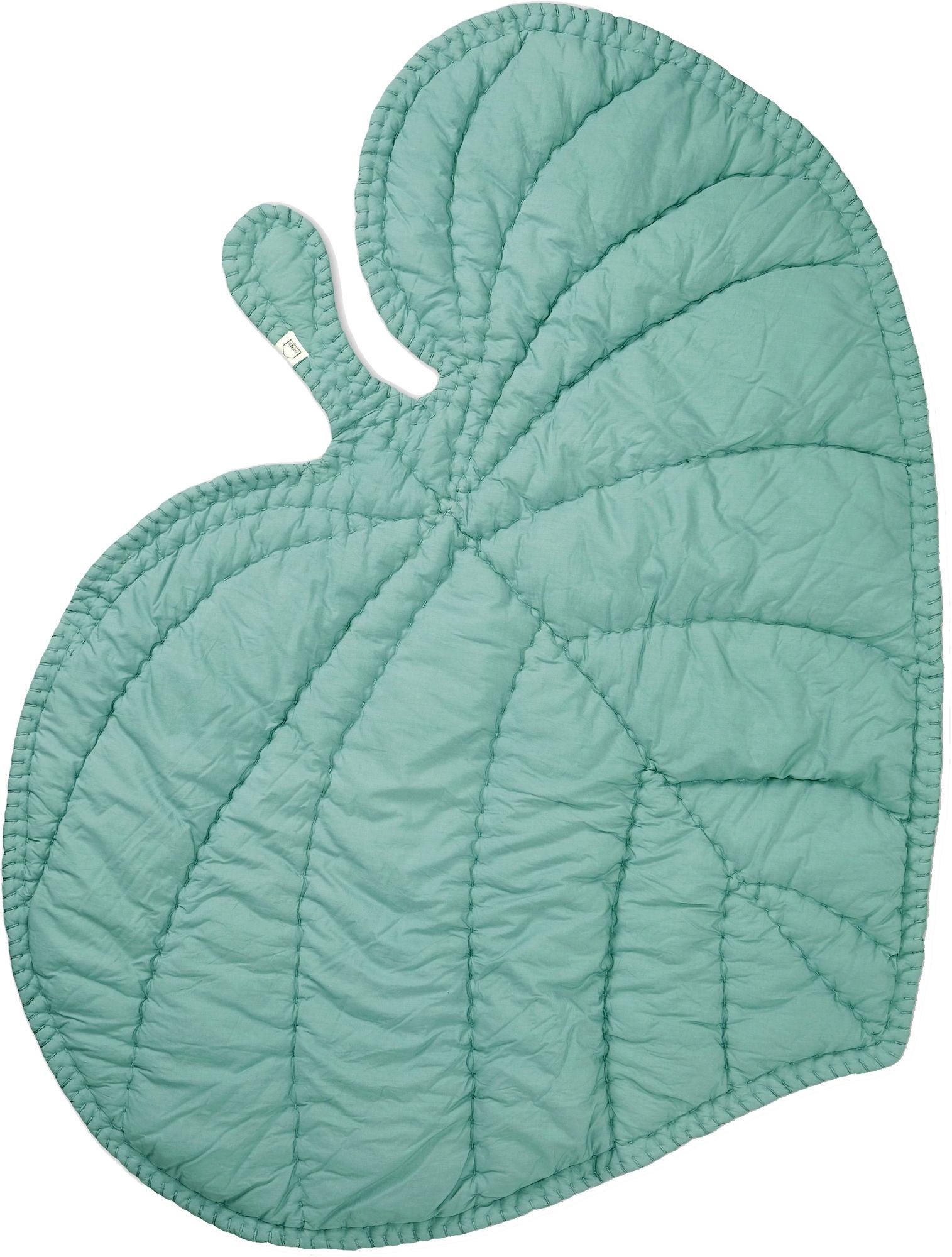 Kjøp Nofred Leaf Teppe, Mint | Jollyroom