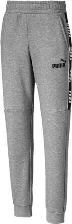 Puma Amplified Sweat Bukse, Medium Grey Hea