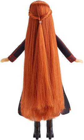 Disney Frozen 2 Hair Play Dukke Anna