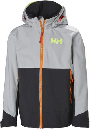 Helly Hansen Ascent Jakke, Grey Fog
