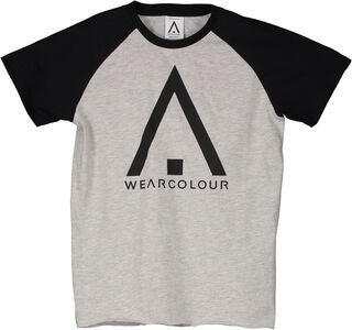 Wearcolour Rag T-Shirt, Grey Melange
