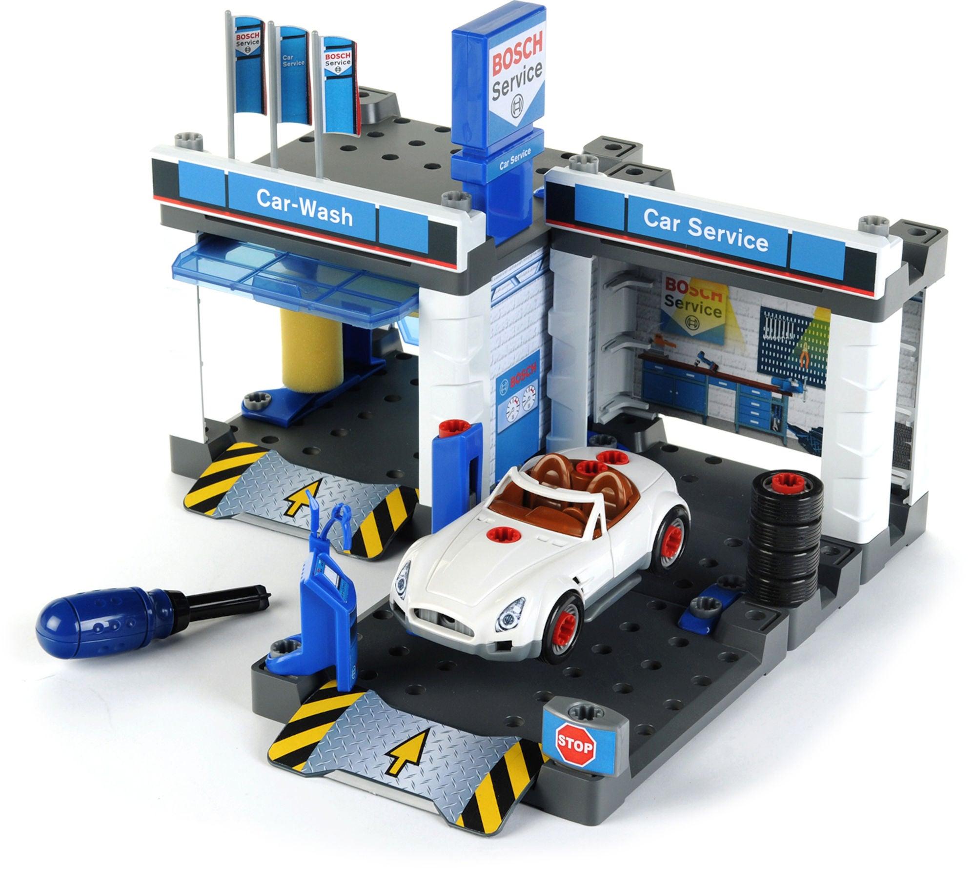 Bosch Bilverksted Med Bilvask