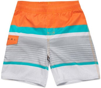 Rip Curl Hawkson Easy Fit Boardshorts 16 tommer, Orange Popsicle