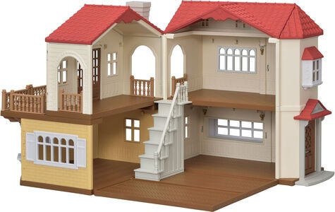 Sylvanian Families Lekesett Red Roof Country Home