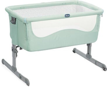 Chicco Bedside Crib Next2Me, Dusty Green