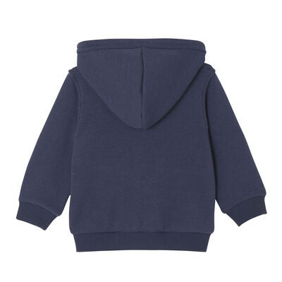 Levi's Kids Zipper Bat Hettegenser, Dark Blue