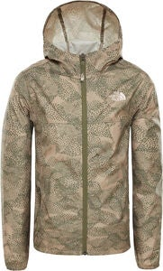 The North Face Reactor Vindjakke, Dune Beige Supr Bloom