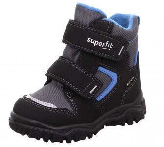 Superfit Husky1 GTX Vintersko, Black/Blue
