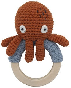 Sebra Morgan The Octopus Heklet Skrangle, Rusty Red