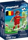 Playmobil 70483 National Player Belgium