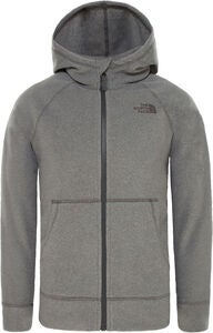 The North Face Glacier Full-Zip Hoodie, Medium Grey