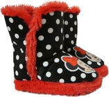 Disney Minni Mus Vintersko, Black/Red