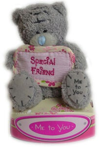 Me To You Kosedyr Teddybjørn Special Friend  7,5 cm