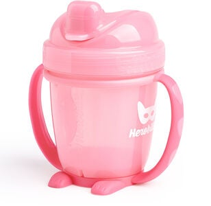 Herobility Sippy Cup 140 ml, Rosa