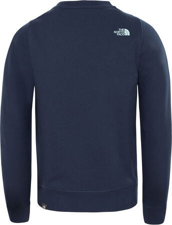 The North Face Box Crew Genser, Cosmic Blue/Canal Blue