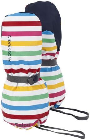 152fe245 Kjøp Didriksons Pileglove Fôret Galonvotter, Rainbow Simple Stripe ...