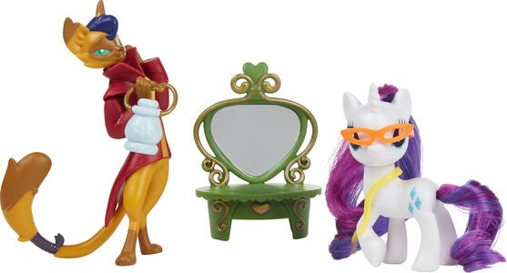 My Little Pony Figurer Rarity/Capper Dapperpaws