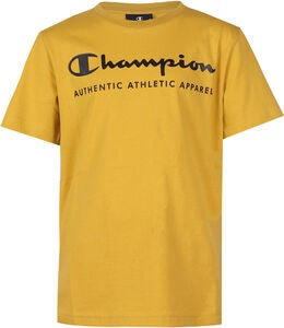 Champion Kids Crewneck T-Shirt, Lemon Curry