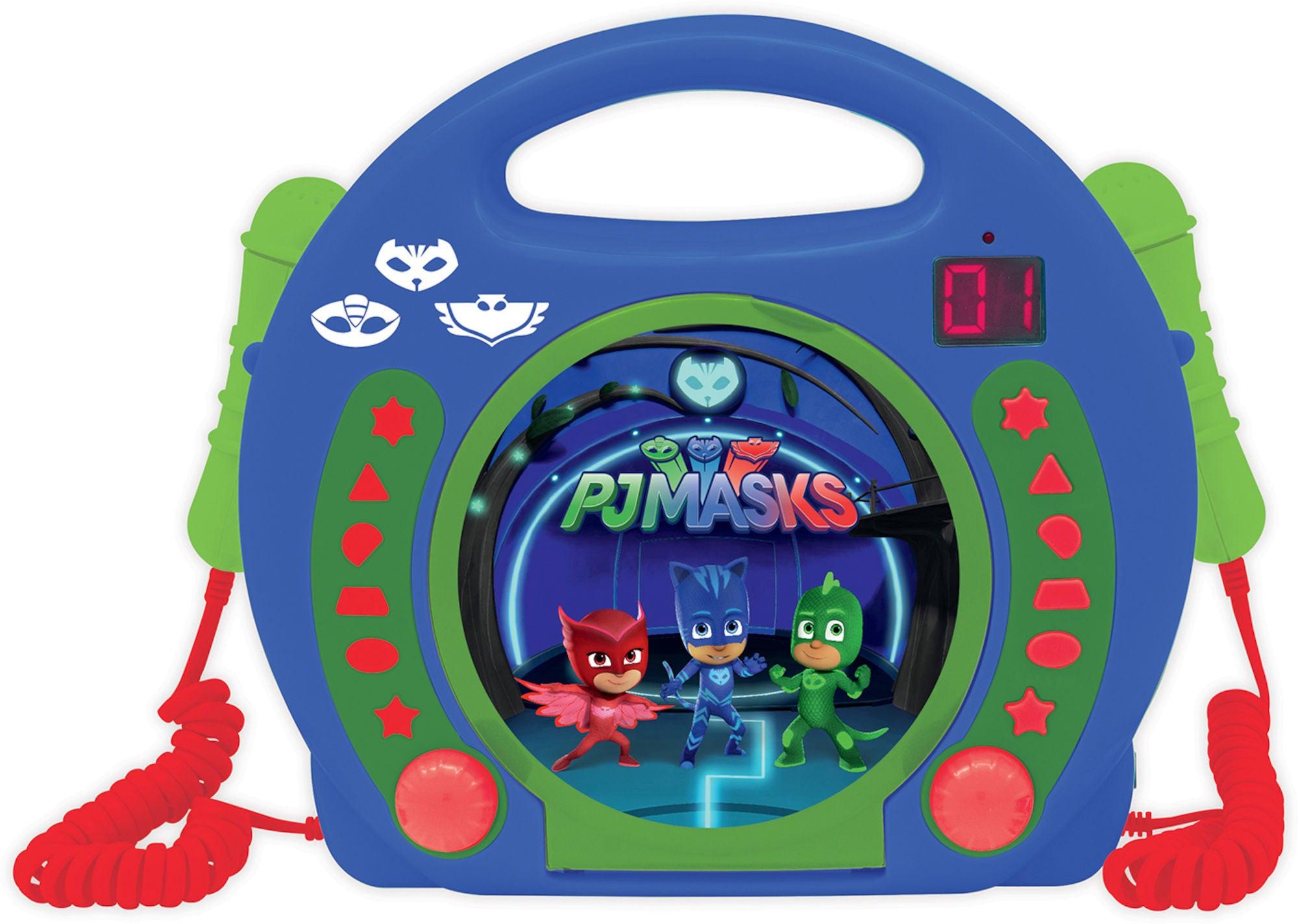 PJ Masks CD-spiller med Mikrofon