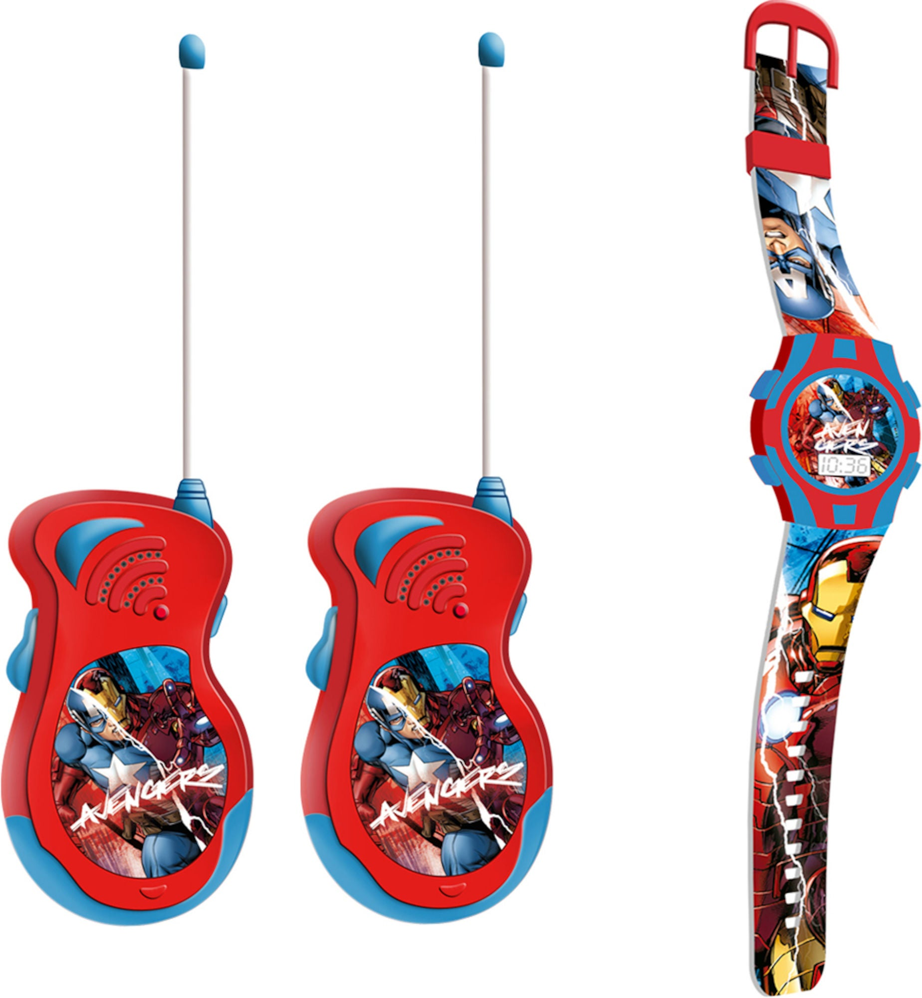 Marvel Avengers Walkie Talkies Og Klokke