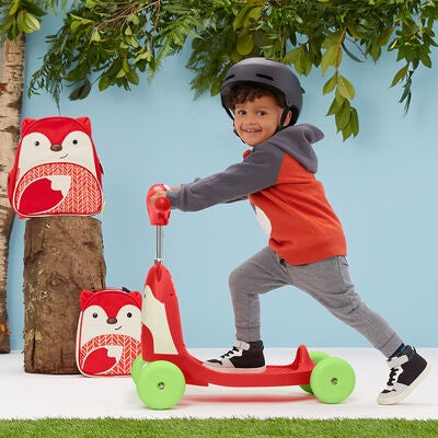 Skip Hop Zoo Ride-On Toy 3-i-1 Rev