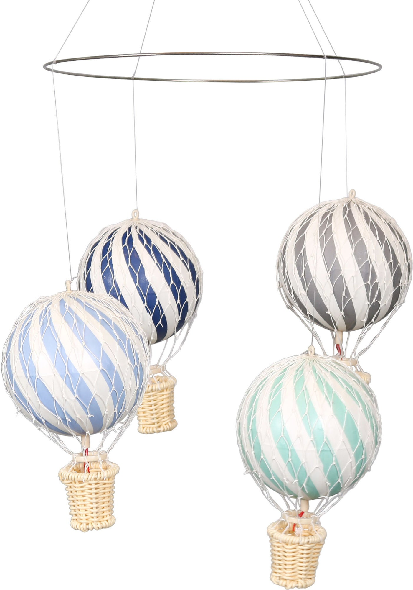 FILIBABBA Mobil Luftballong Dark Pastels