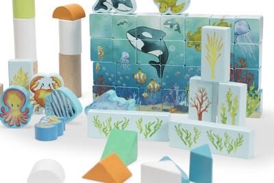 Classic World Lekesett Ocean Blocks