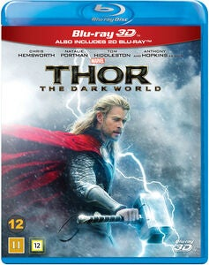 Marvel Thor The Dark World Blu-Ray 2D + 3D