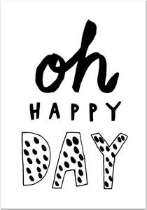 POPP Poster Oh Happy Day 21x30