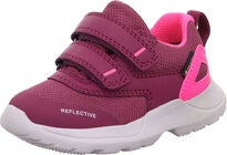 Superfit Rush GTX Sneaker, Red/Pink