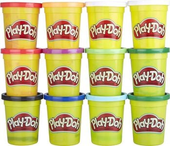 Play-Doh Lekeleire Vinterfarger 12-pack