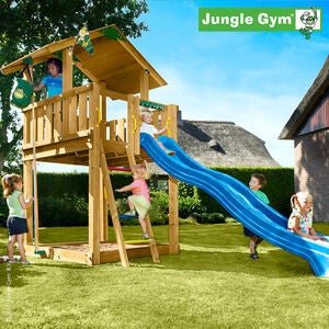 Jungle Gym Lekestativ Chalet Inkl. Sklie