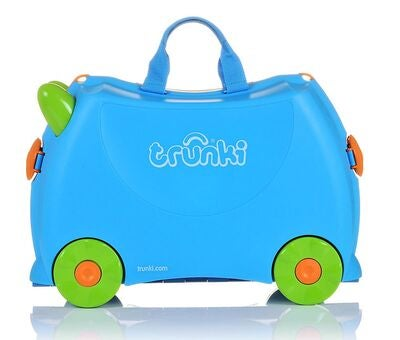Trunki Koffert Blå