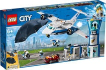 LEGO City Police 60210, Luftpolitiets Flybase