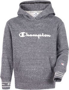 Champion Kids Hettegenser, New Charcoal Grey Melange Dark