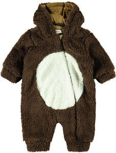 Name it Mudolph Teddy Babydress, Bronze Brown