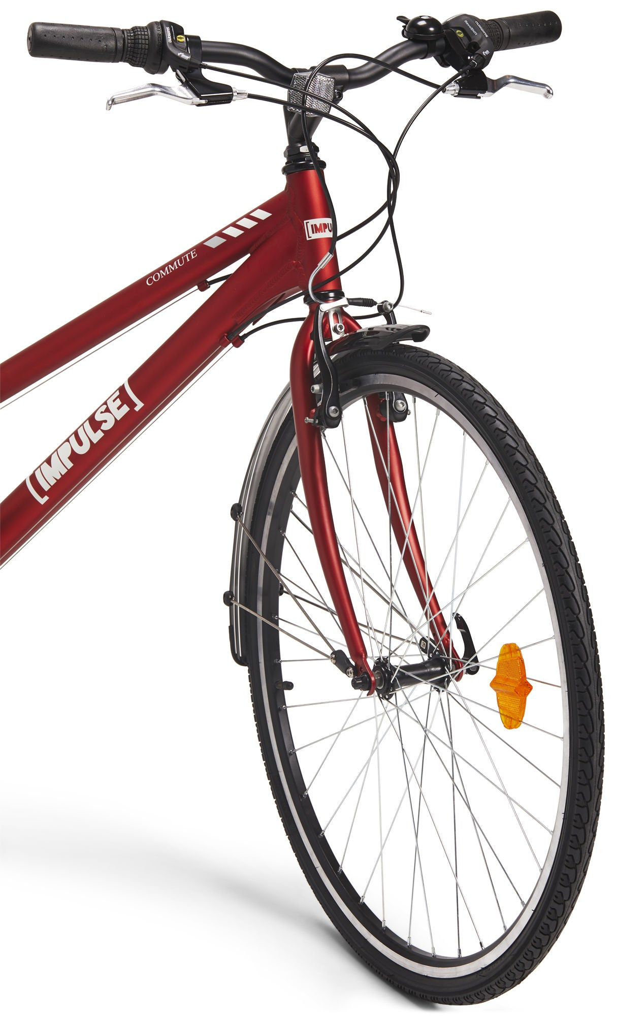 Impulse Premium Commute Sykkel 28 tommer, Red