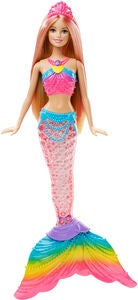 Barbie Rainbow Lights Mermaid Dukke