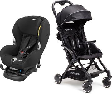 Maxi-Cosi Mobi XP, Night Black Risepakke Beemoo Easy Fly Trille, Black