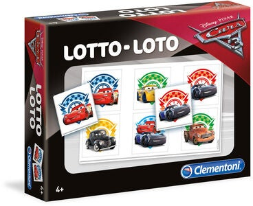 Disney Cars 3 Spill Lotto