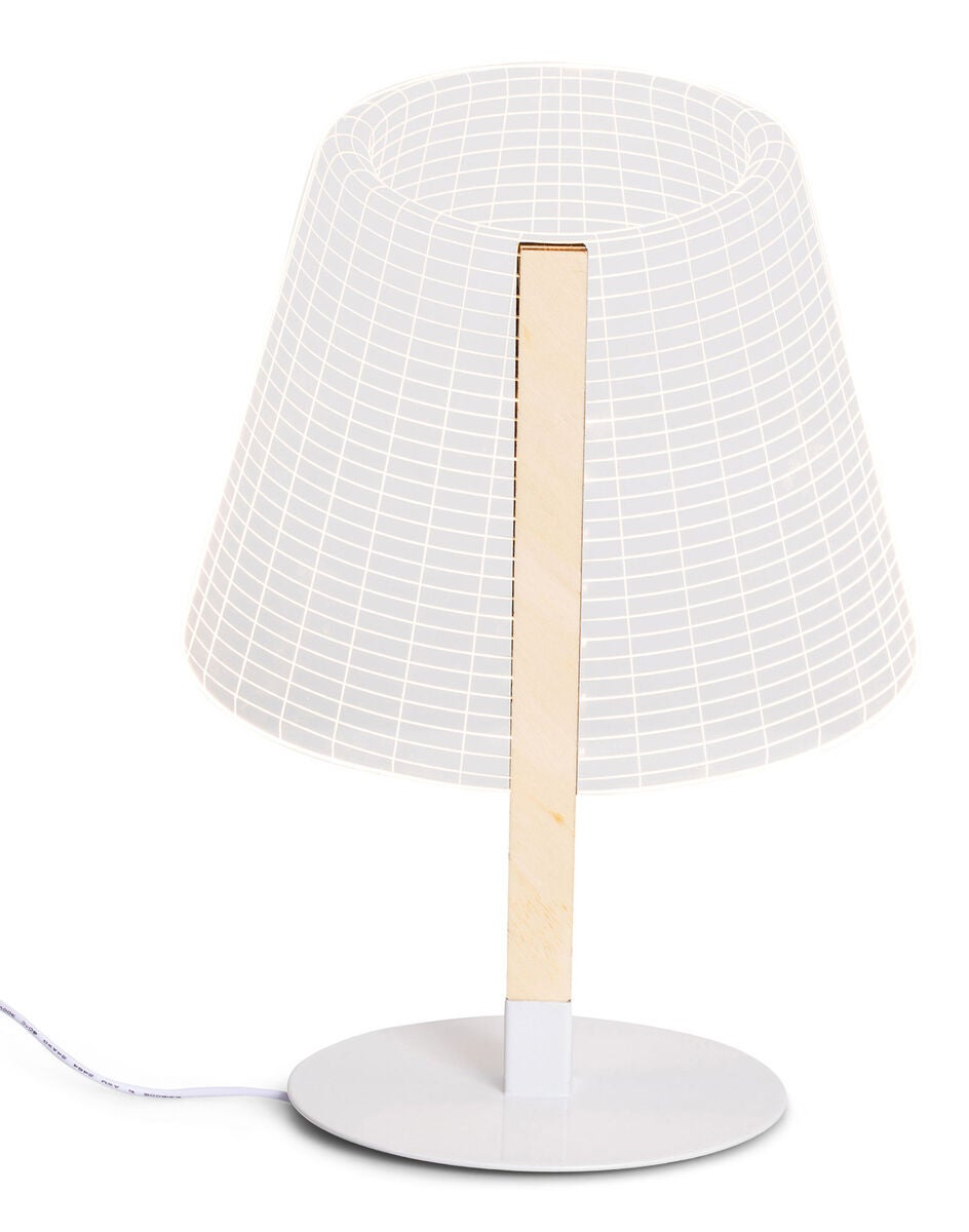 Kjøp MYroom OKI Bordlampe 3D, Tre | Jollyroom