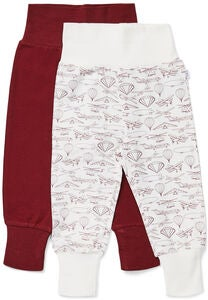 Luca & Lola Willow Bukse 2-pack, Red