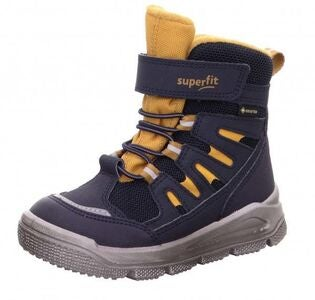 Superfit Mars GTX Vintersko, Blue/Yellow