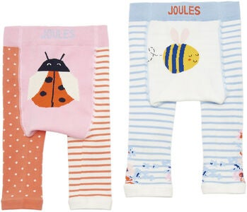 Tom Joule Leggings 2-pack, Pink Multi Ladybird Bee