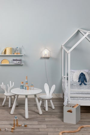 Kjøp Minitude Nordic Elg Stol, Hvit | Jollyroom