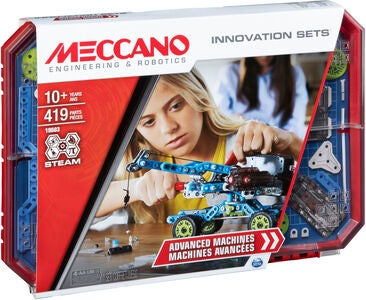 Meccano Byggesettt Advanced Machines